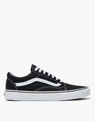 Vans Old Skool In Black True White Black White