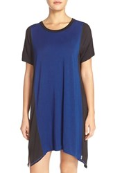 Women's Dkny Short Sleeve Colorblock Jersey Chemise