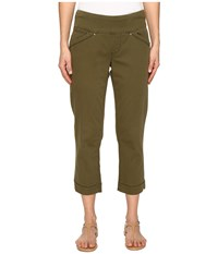 Jag Jeans Marion Crop In Bay Twill Hedge Women's Green