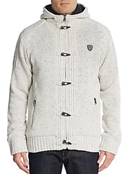 Buffalo David Bitton Wendell Toggle Sweater Sand