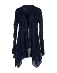High Cardigans Dark Blue