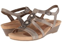 Cobb Hill Hannah Pewter Women's Wedge Shoes