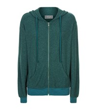 Wildfox Couture Love Story Fleece Hoodie Female Green