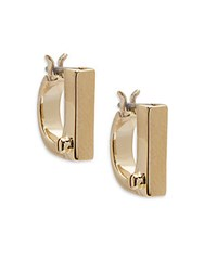 Miansai 18K Gold Plated Flat Earrings