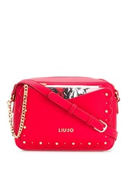 Liu Jo Studded Crossbody Bag Red