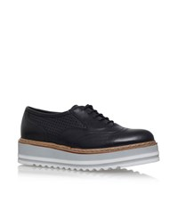 Carvela Kurt Geiger Lasting Platform Brogue Female Black