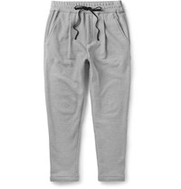 Public School Tapered Cotton Sweatpants Gray