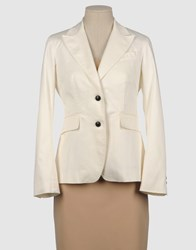 Gerard Darel Suits And Jackets Blazers Women Ivory