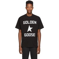Golden Goose Black Star T Shirt