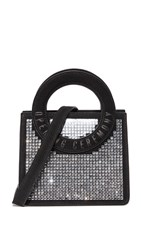 Opening Ceremony Crystal Lynx Cross Body Bag Black Multi