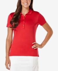 Callaway Opti Dri Golf Polo Tango Red