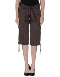 Woolrich 3 4 Length Shorts Cocoa