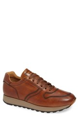 Magnanni Daxton Sneaker Cognac Leather