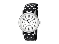 Timex Weekender Reversible Nylon Slip Thru Strap Black White Watches
