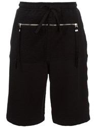 Blood Brother Zipped Pocket Track Shorts Black