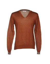 Hosio Sweaters Brown