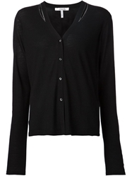 Schumacher Chain Trimmed Cardigan Black