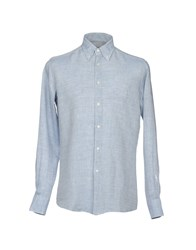 Ingram Shirts Slate Blue