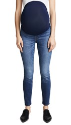 Madewell Maternity Over The Belly Skinny Jeans Danny Wash