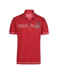 Napapijri Polo Shirts Brick Red