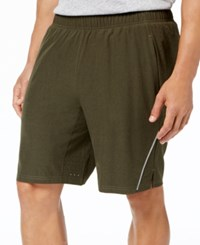 Ideology Id Men's 2 In 1 Shorts Created For Macy's Olive Heather