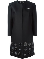 Philipp Plein 'Bomber' Coat Black