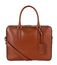 Sandro Leather Briefcase Red