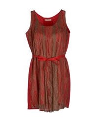 Poems Short Dresses Red