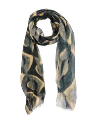 Brian Dales Accessories Oblong Scarves Men Deep Jade