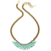 Elizabeth Cole Milly Necklace Mint