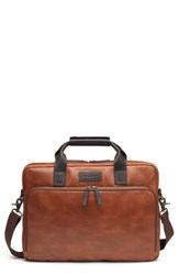 Trask 'Jackson' Leather Tote Brown