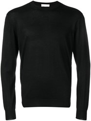 Cruciani Crew Neck Jumper Black
