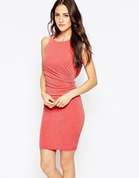 Jessica Wright Lucy Bodycon Dress Coral