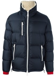 Moncler Padded Casual Jacket Blue