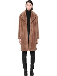 Stand Camille Soft Midi Coat Camel