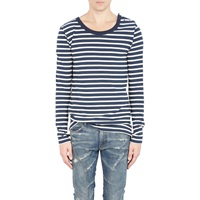 Sailor Striped Shirt Navy