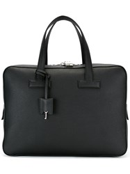 Tom Ford Grained Briefcase Black