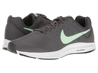 Nike Downshifter 7 Anthracite Fresh Mint Dark Grey White Women's Running Shoes Gray