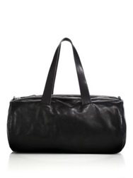 Alexander Mcqueen Studded Leather Duffel Bag Black