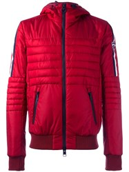 Rossignol Zip Up Padded Jacket Red