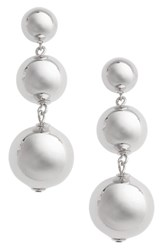 Kate Spade Women's New York Golden Girl Bauble Drop Earrings Silver
