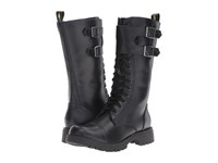 Volatile Voltage Black Women's Lace Up Boots