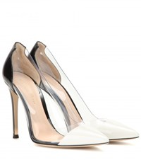 Gianvito Rossi Patent Leather And Transparent Pumps Black