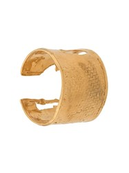 Alighieri The Woven History Cuff Gold