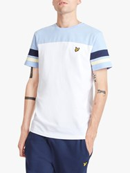 Lyle And Scott Short Sleeve Contrast Band T Shirt White