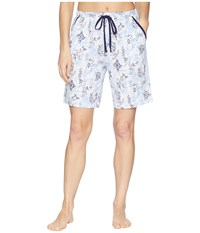 Nautica Bermuda Shorts Collage Pajama Multi