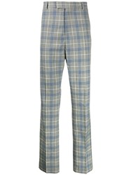 Band Of Outsiders Check Tuxedo Trousers Grey