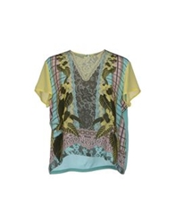 Emma Cook Blouses Turquoise