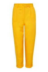 Topshop Y Peg Trousers Sunshine Yel