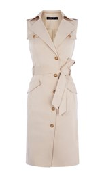 Karen Millen Pocket Safari Dress Stone